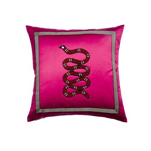 Fuchsia satin snake