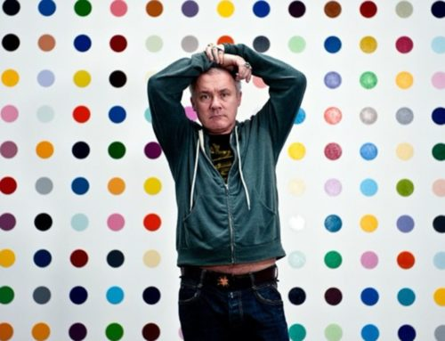 Spot On! Fabfabrics Meets Damien Hirst…