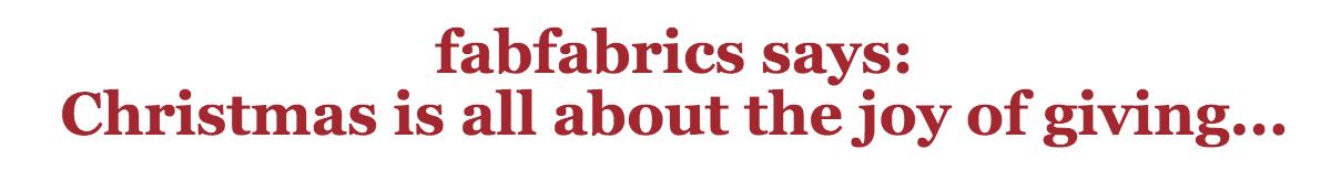 fabfabrics says